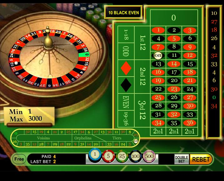 free roulette game online uk